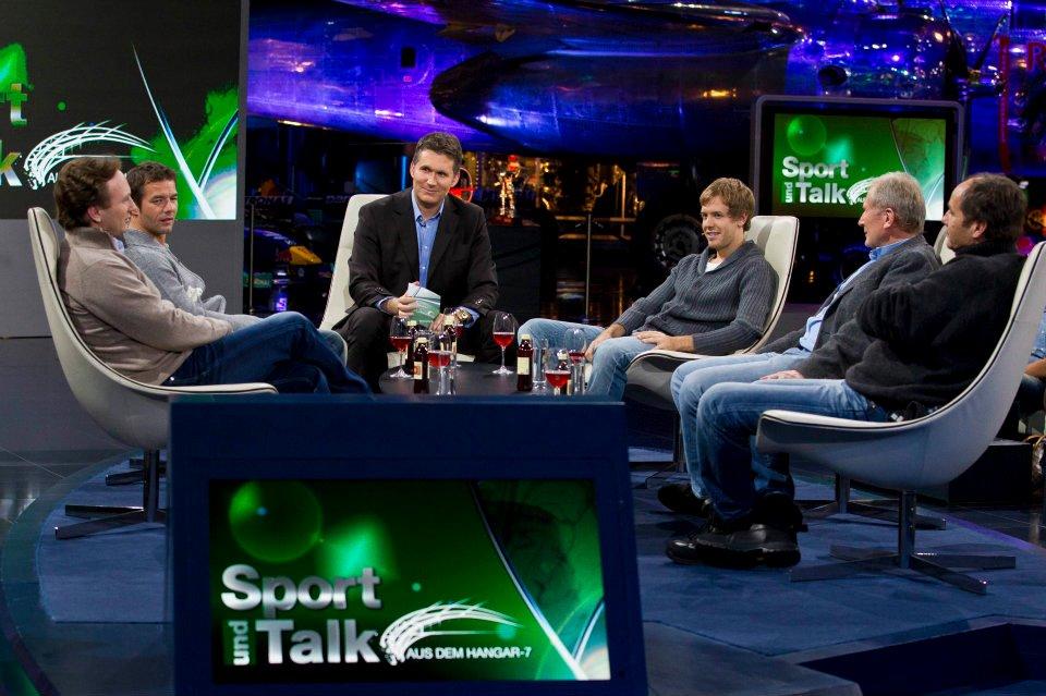 Talk Hangar Vettel 2011